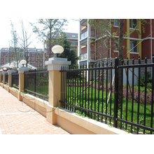 Design Metal Powder Coated Fencing for House