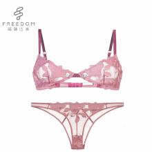 FDBL7103118 Heißer verkauf leatish design stilvolle hot fancy indien sexy mädchen stickerei bh und panty in fotos gesetzt