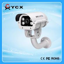 Nouveaux voyants infrarouges IR Numéro de la plaque de voiture Caméra CCTV IP réseau IP vision jour et nuit