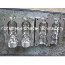 2 полости бутылки для воды пластиковые выдувные формы