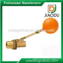 Zhejiang / Taizhou / Yuhuan cor de latão amarelo chinês mecânico tanque de água de bronze flutuador flutuante válvula de esfera dn20 dn15 dn40