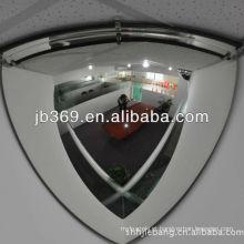 espelho da abóbada do plástico do quarto, 90cm ângulo de visão de 90 graus