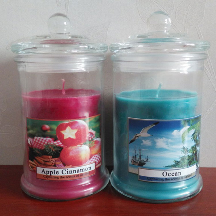Metro Glass Jar Candles