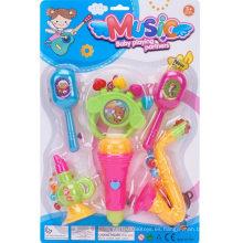 Juego de juguete de música de combinación 6PCS