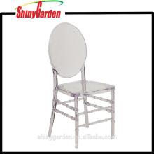 Silla de jardín de plástico transparente de alta calidad, Florence Chair (KD)