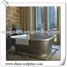 Hotel Decoration/hammered copper bathtub