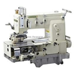 12-igłowa Podwójna łańcuszkowa maszyna do szycia ściegiem do jednoczesnego shirringu