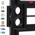 103 Series Black Triple Maple Hinge Left Security Door