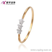 51368 xuping Multicolor Environmental Copper star gold alloy bangle