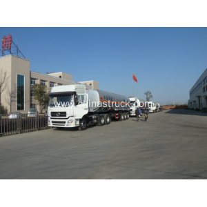 3 axle 40,000 liters fuel tank semi-trailer for China Petrol