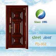 China Steel Security Door Metal Door Entrance Door Exterior Door (FD-912)