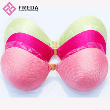 Best Quality Sticky On Push Up Backless Bra