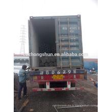 Tuyau en acier galvanisé à chaud en Chine / tuyau galvanisé sans soudure / tuyau galvanisé ERW / BS1387-1985 / Q235 / SS400