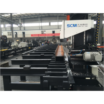 Spindle Single Speed ​​CNC Rails Drilling Machine