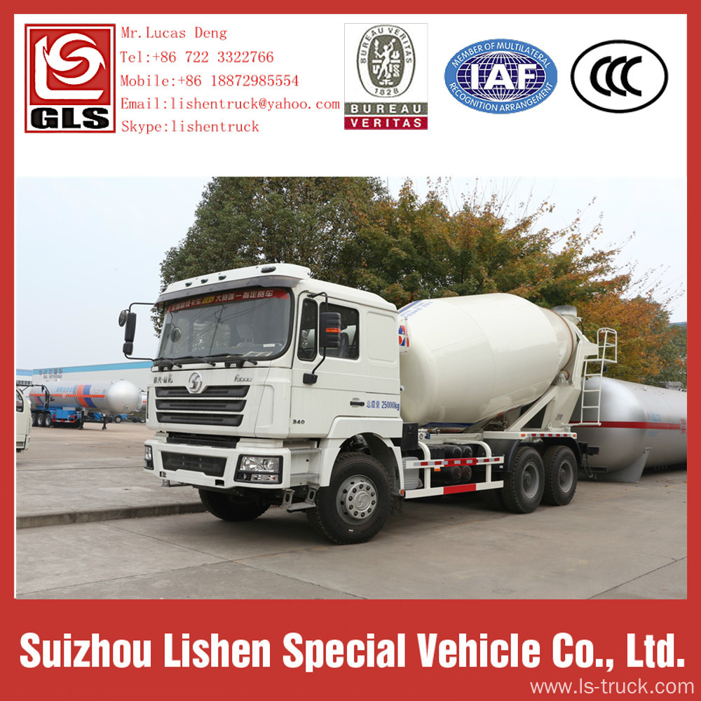 Shacman 6X4 Concrete Mixer Truck For Sale