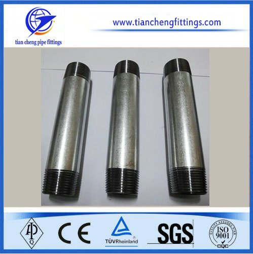 Carbon Steel Electro Galvanized Pipe Nipple