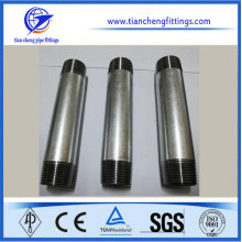 Galvanized Barrel Nipple Pipe Nipple SCH40 NPT