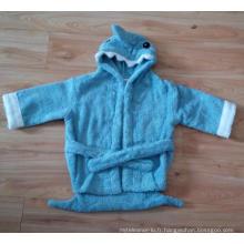 (BC-KB1004) Hot-Sell 100% coton Terry Kids Cute Bathrobe