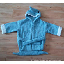 (BC-KB1004) Hot-Sell 100% Cotton Terry Kids Cute Bathrobe