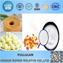 Ingredientes de revestimiento de venta caliente Polvo de Pullulan