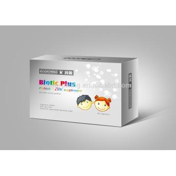Sachets de zinc probiotique pour enfants