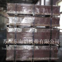 6061 t6 Aluminiumplatte / Bogen für Flugzeuge in China hergestellt
