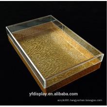 Custom-made Gold Acrylic Tray