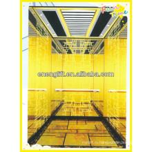 Комфортабельный и роскошный пассажирский лифт отеля