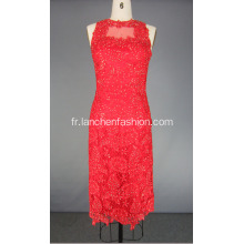 Dentelle rouge robe de bal Homecoming Party Dress