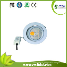 360 grados 26W COB LED giratorio Downlight