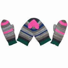 Fashion Sweet Valentine Couple Acrylic Knitted Winter Warm Gloves (YKY5430)