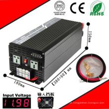Inversor DC-AC 2500W 12VDC ou 24VDC 48VDC para 110VAC ou 220VAC Inversor de Onda Senoidal Pura
