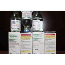 Инфузия парацетамола 1 г / 100 мл, инфузия парацетамола 500 мг / 50 мл, инфузия парацетамола в стеклянной бутылке, парацетамол в пластиковом пакете