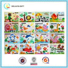 EVA foam puzzle art sticker toys for kids