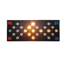 tablero de flecha direccional del módulo de semáforo intermitente