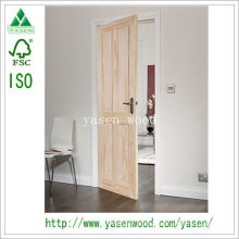 Raised Panel Customerized Interior Wooden Door