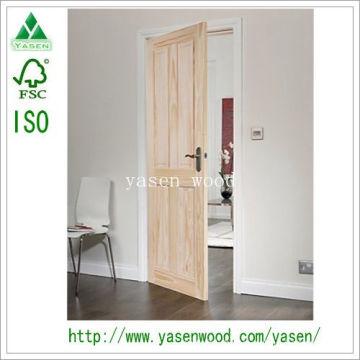Raised Panel Customerized Interior Wooden Door