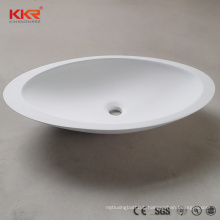Matt artificial stone washbasin bathroom stone solid face bowl basin