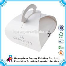 Высокое качество изготовленные на заказ бумажные упаковывая торт