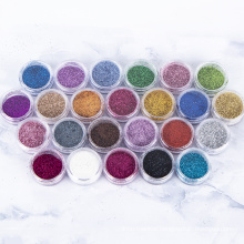 Art Slices 12 Colors Fluorescent Powder Color Pigments Dust For Nail Polish