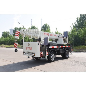 6 ton mobile crane tire crane small crane