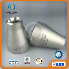 Réducteur en acier inoxydable ASME B16.9 Con. Raccord de tuyauterie de Ss (KT0318)