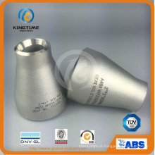 Cone Redutor de Aço Inoxidável ASME B16.9 Encaixe de tubulação Ss (KT0318)
