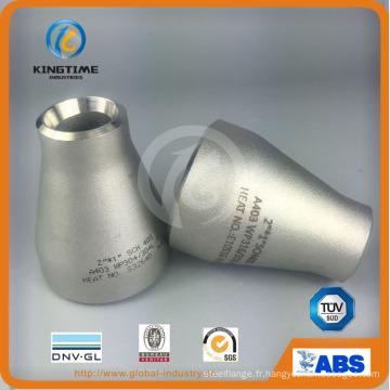 ASME B16.9 acier inoxydable sans soudure réducteur concentrique pour l'expédition (KT0209)