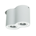 Dimmable Redondo Branco 2 * 7W LED Downlight