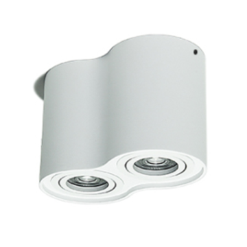 Dimmbares rundes weißes 2 * 7W LED-Downlight