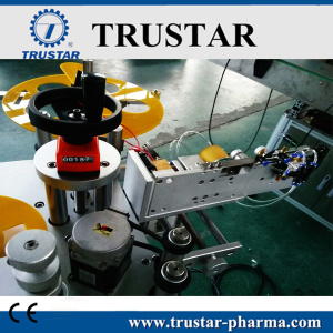 Automatic Double sides Round Bottle Labeling Machine