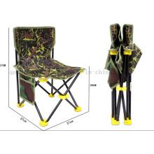 Chaise pliante portative faite sur commande de camping de pêche de directeur