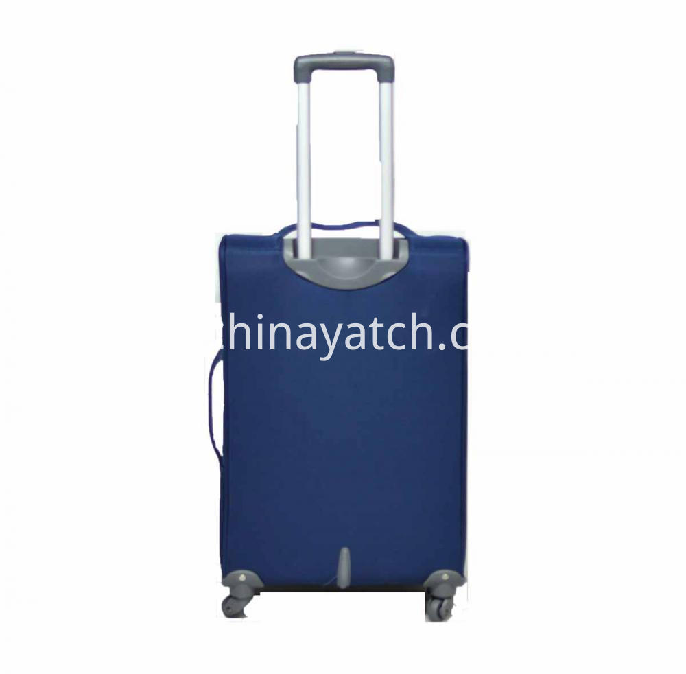 Blue Rolling Luggage Set