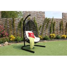 Design preferido Jardim ao ar livre Jardim cadeira de balanço de vime Rattan Hammock